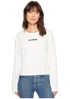"7 For All Mankind Tomboy Long Sleeve Tee ""All Kinds"""