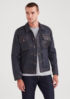 7 For All Mankind Trucker Jacket in Deep Wax