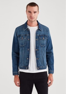 7 For All Mankind Trucker Jacket in Phenomenon
