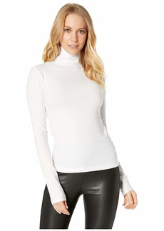 7 For All Mankind Turtleneck Long Sleeve Tee