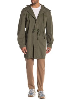 7 For All Mankind Twill Parka Jacket