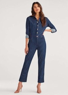 7 For All Mankind Utility Jumpsuit in Patriot