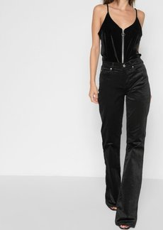 7 For All Mankind Velvet Ali in Black