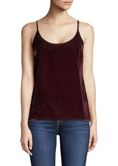 7 For All Mankind Velvet Camisole