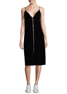 7 For All Mankind Velvet Little Black Dress