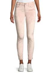 7 For All Mankind Velvet Skinny Ankle Jeans