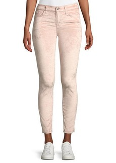 7 For All Mankind Velvet Skinny Ankle Jeans