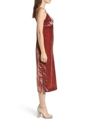 7 For All Mankind Velvet Slipdress