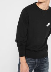 7 For All Mankind Vintage Ghost Sweatshirt in Black