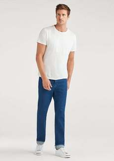 7 For All Mankind Vintage Straight in Heritage Mid Blue