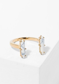 7 For All Mankind Wanderlust + Co Athena Cuff Ring in Gold