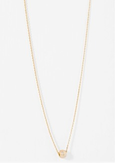 7 For All Mankind Wanderlust + Co Leah Choker in Gold