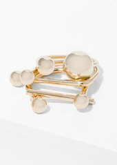 7 For All Mankind Wanderlust + Co Ring in Stack Rings in Gold