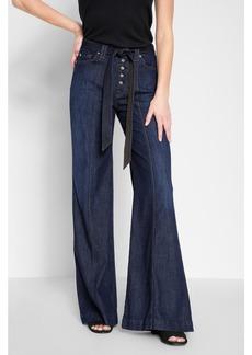 Wide Leg Lounge Pant in Deep Blue