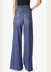 7 For All Mankind Wide Leg Palazzo Pant in Vintage Light