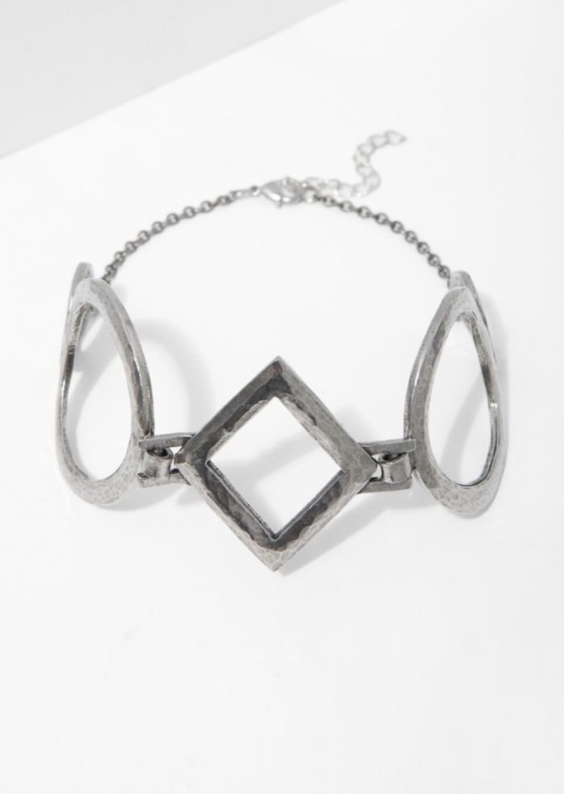 7 For All Mankind Ziggy Choker in Silver