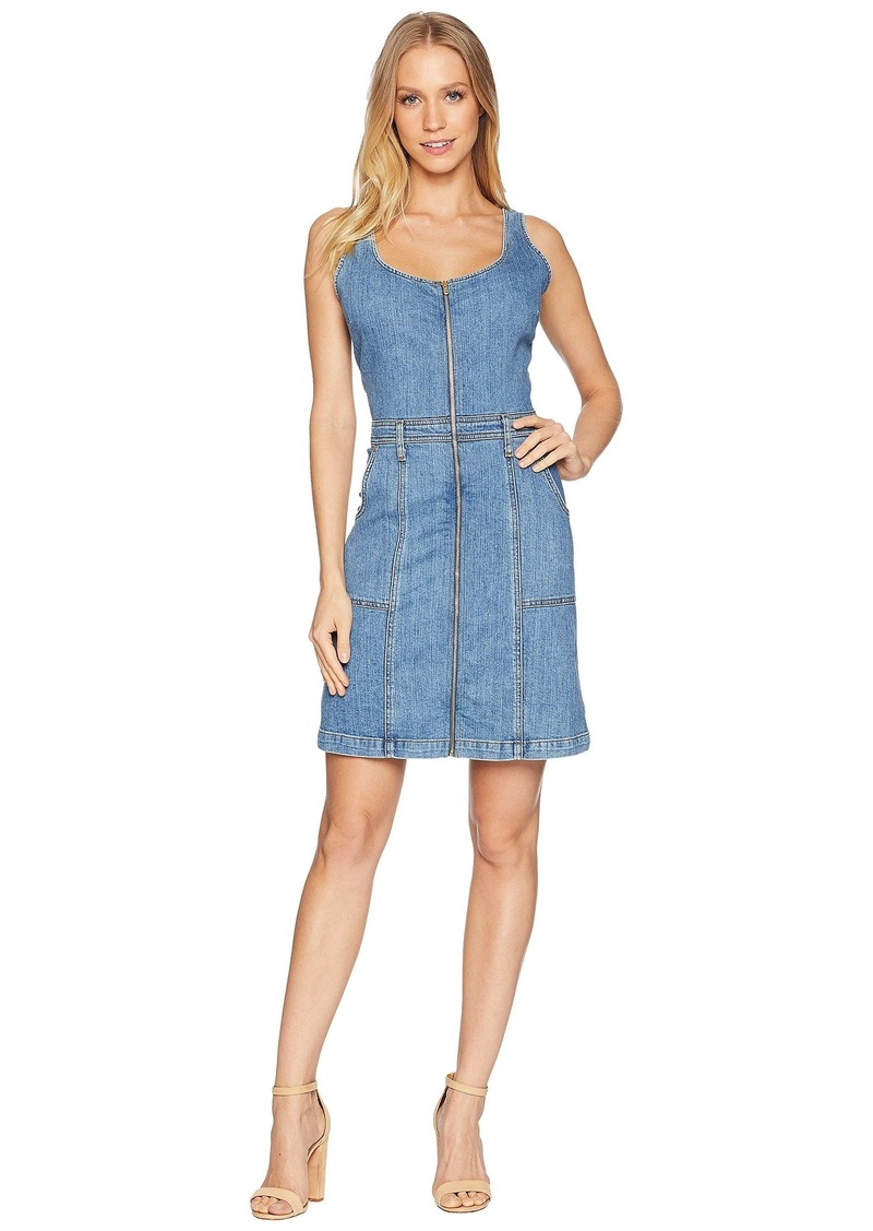 7 For All Mankind Zip Front Dress