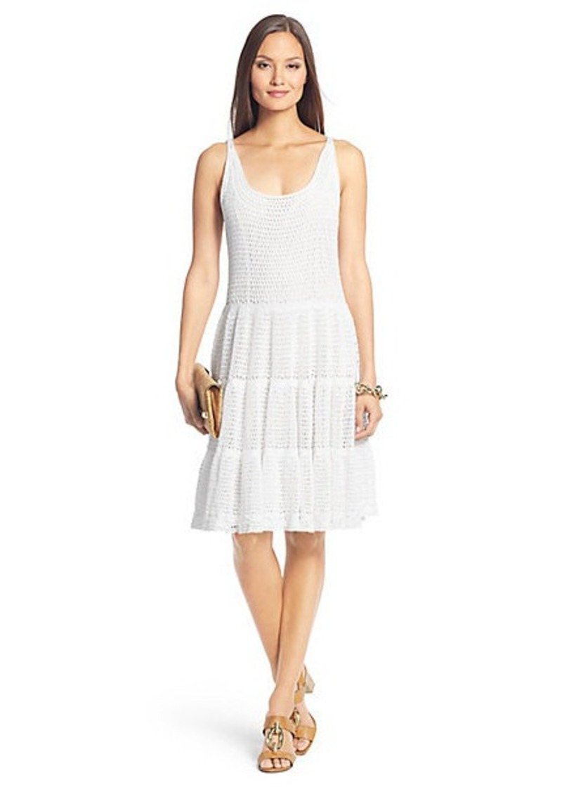 Diane Von Furstenberg Lille Crochet Knit Dress