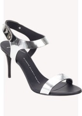 Giuseppe Zanotti Plated Ankle-Strap Sandals