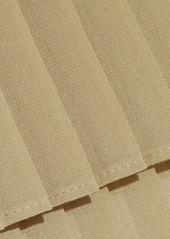 MICHAEL Michael Kors Pleated chiffon maxi skirt