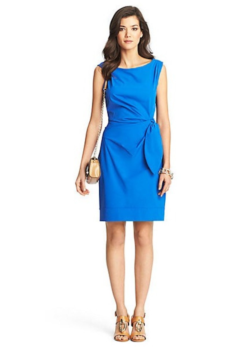Diane Von Furstenberg New Della Ruched Sheath Dress