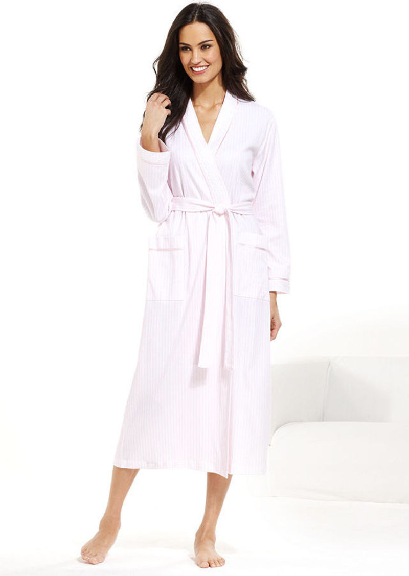 Charter Club Collection Long Knit Kimono Robe