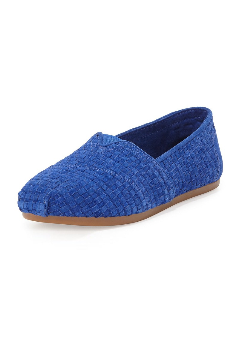 how to clean woven toms