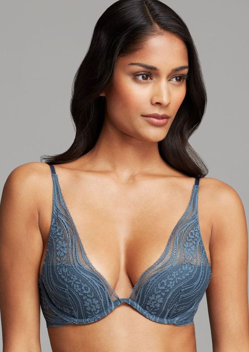 Calvin Klein Underwear Bra - Infinite Lace Convertible Provocative Plunge #F3797
