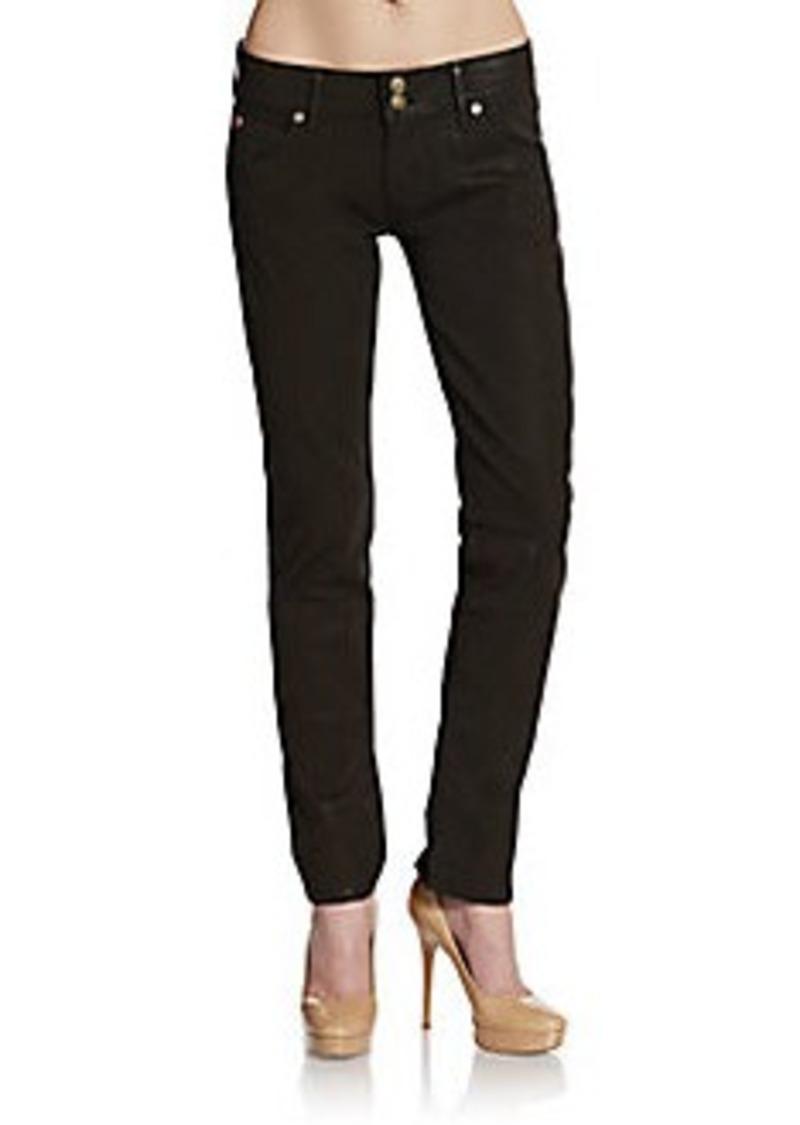 Hudson Jeans Hudson Collin Coated Skinny Jeans