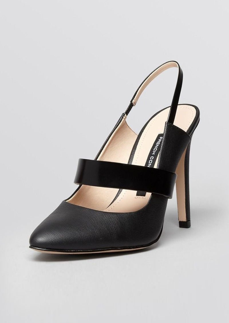 FRENCH CONNECTION Pointed Toe Mary Jane Pumps - Madeline High Heel