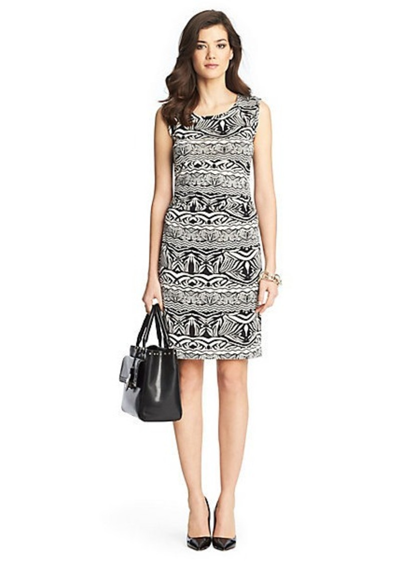 Diane Von Furstenberg Selene Ruched Silk Jersey Dress