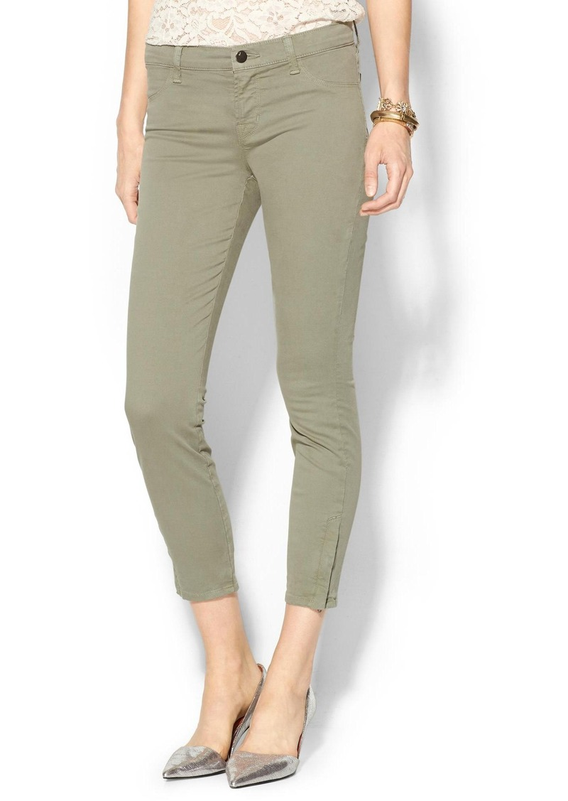 J Brand Mid Rise Capri with Zipper