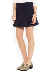 Marni Pleated wool-blend twill mini skirt
