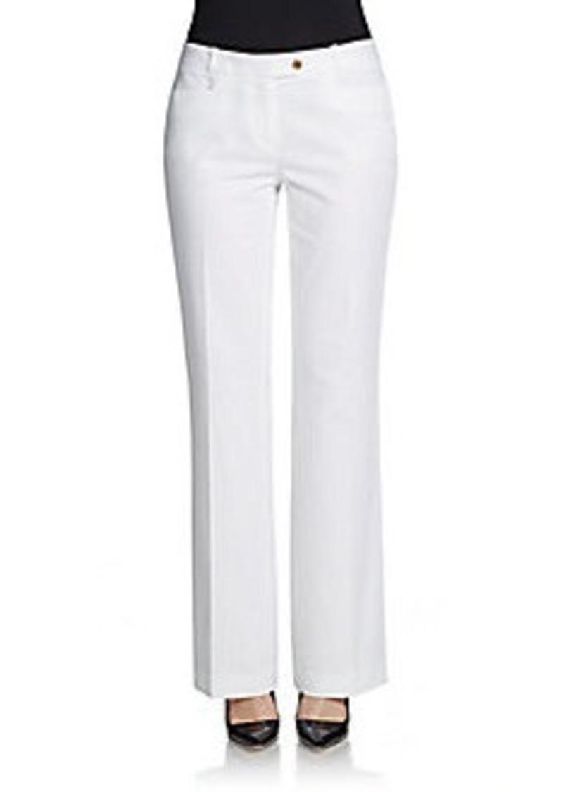 Calvin Klein Modern-Fit Stretch Cotton Pants