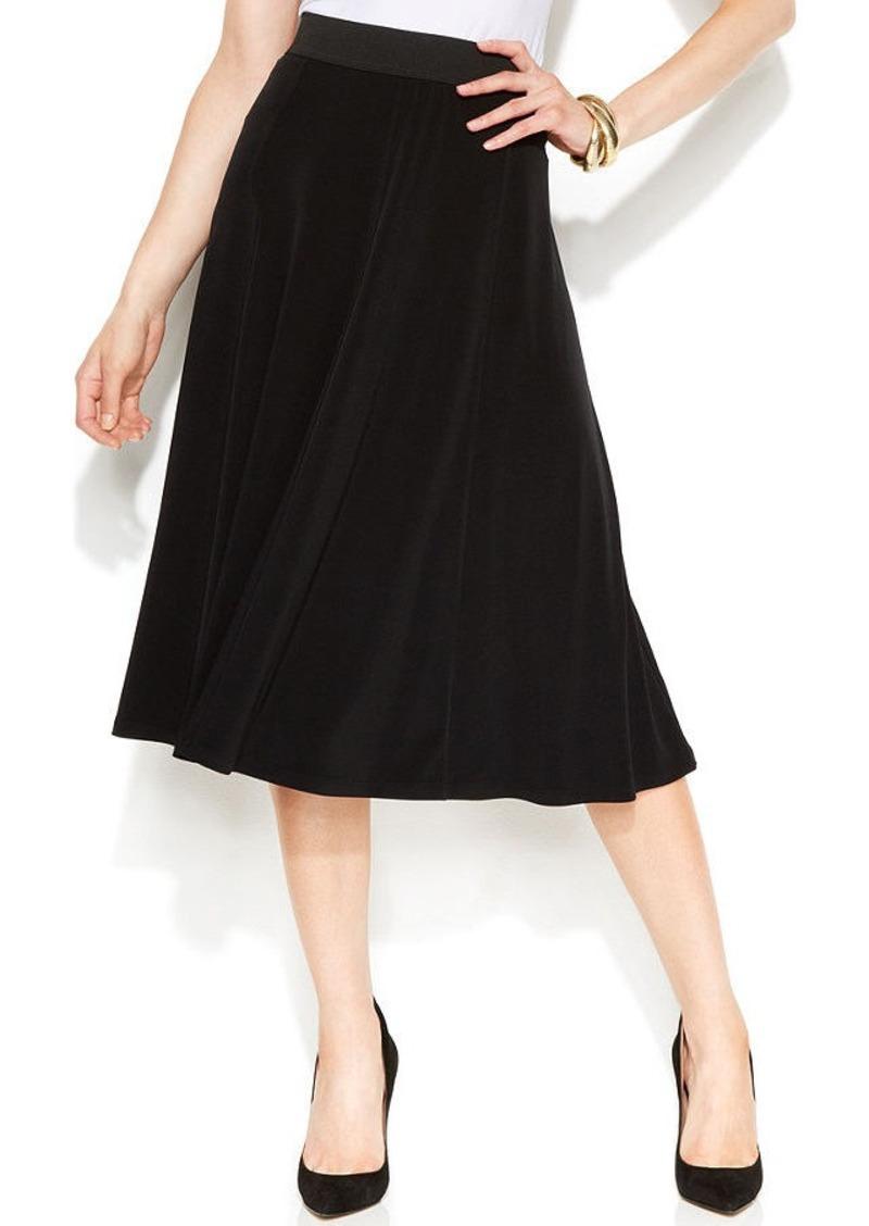Alfani Knit A-Line Skirt