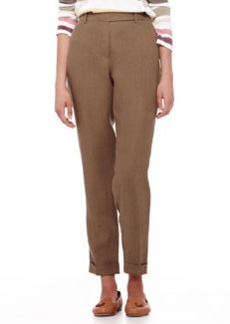 Loro Piana Jari Galway Cuffed Ankle Pants