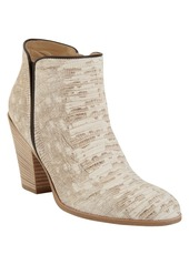Giuseppe Zanotti Reptile-Stamped Side Zip Ankle Boot