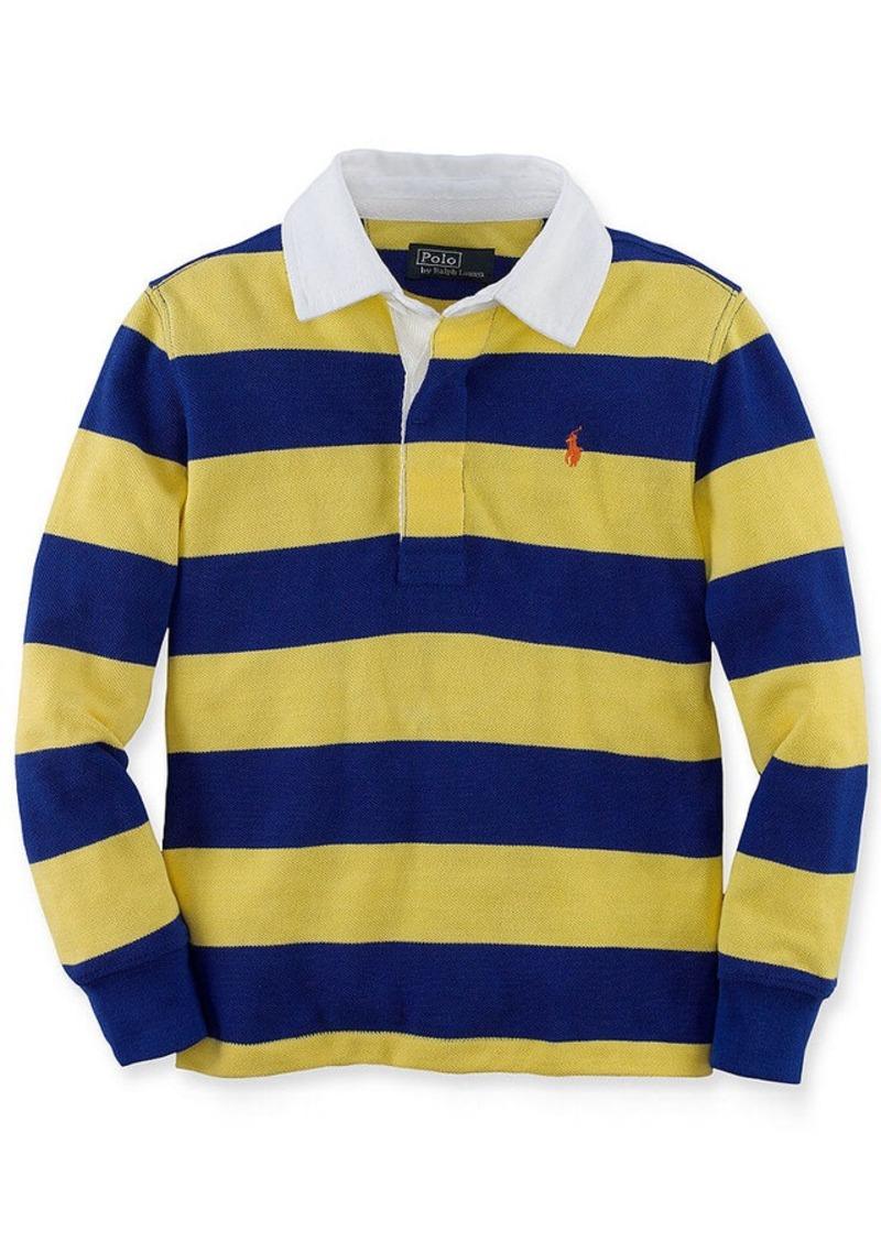 Ralph lauren ralph lauren kids shirt little boys rugby for Boys striped polo shirts