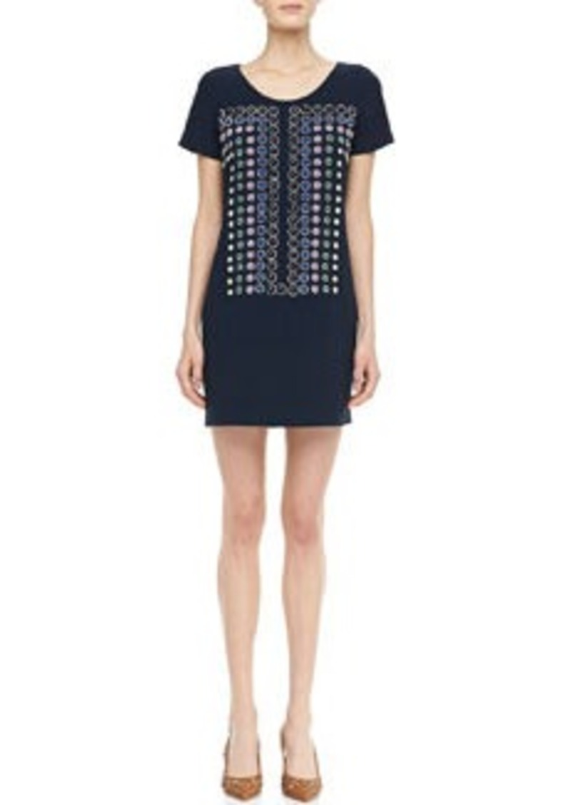 diane von furstenberg owen sugar studs short sleeve dress owen sugar studs short sleeve dress. Black Bedroom Furniture Sets. Home Design Ideas