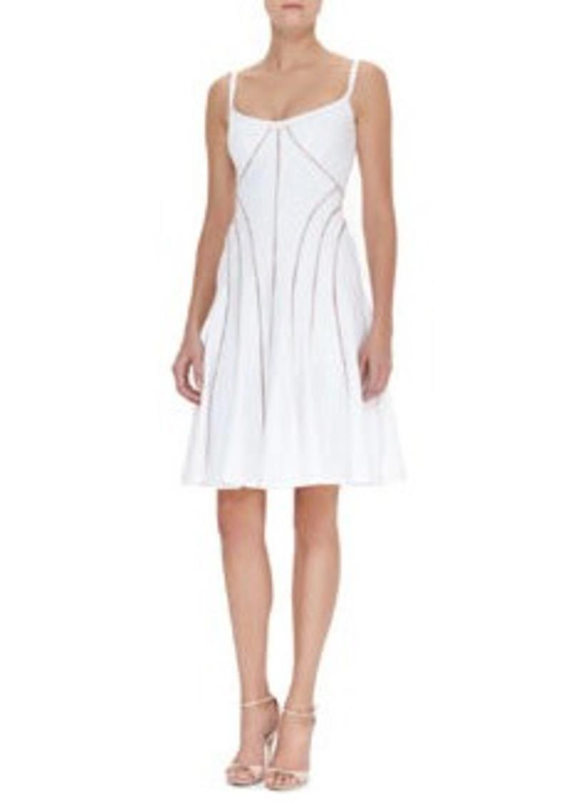 Nanette Lepore Sheer Bliss Cutout Swing Dress