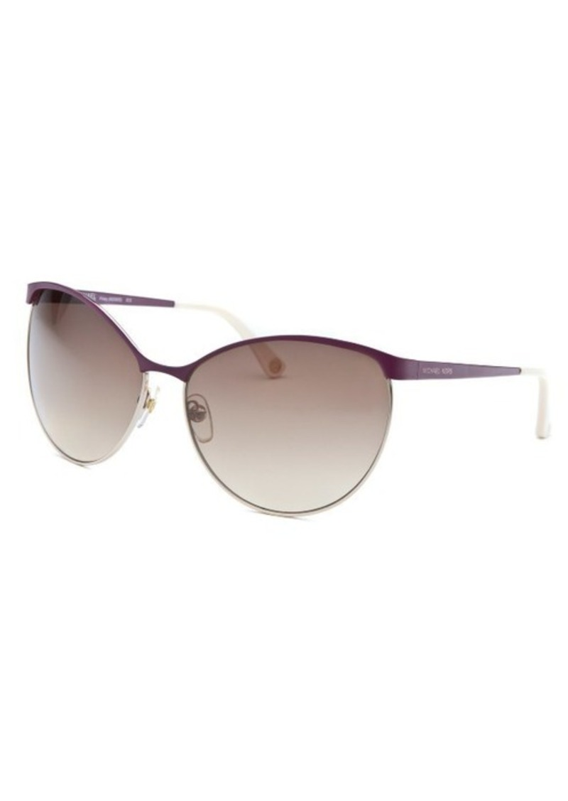 MICHAEL Michael Kors Michael By Michael Kors Women's Michael Kors Finley Cat Eye Purple Sunglasses