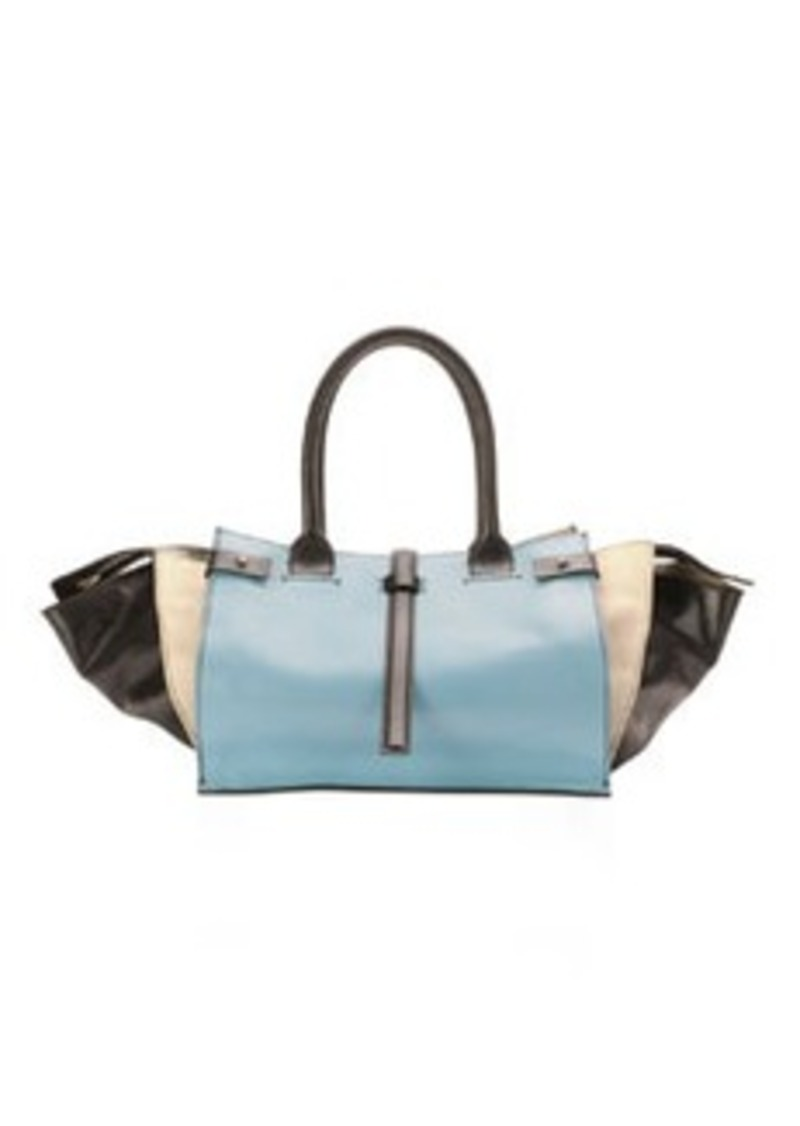 Costume National Parigi Colorblock Classic Duffel Bag, Multi   Parigi Colorblock Classic Duffel Bag, Multi