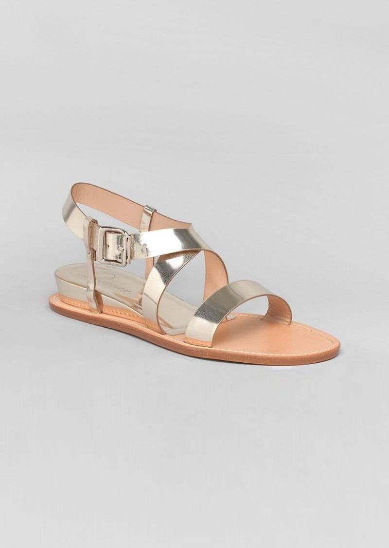 Delman Flat Sandals - Maud