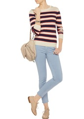 AG Adriano Goldschmied AG Jeans The Legging Ankle striped twill skinny jeans