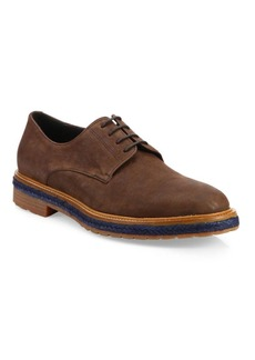 A. Testoni Phenice Leather Derby Shoes