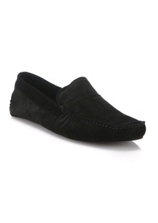 A. Testoni Suede House Slippers