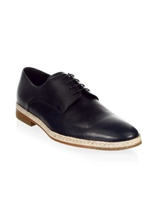 A. Testoni Classic Leather Derbys