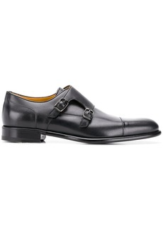A. Testoni classic monk shoes