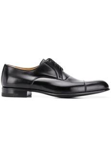 A. Testoni formal derby shoes
