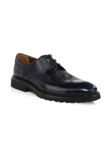 A. Testoni Royal Leather Derby Shoes